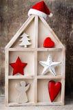 Candlestick. Christmas lantern. Cristmas decoration, greeting ca Royalty Free Stock Images