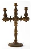 candlestick drewniany Obraz Stock