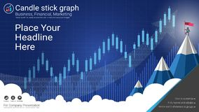 Candlestick and financial graph charts, Infographic presentations template. Candlestick and financial graph charts, Infographic presentations template, Global Stock Images