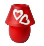 candlestick lampy czerwień Obrazy Royalty Free