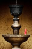 Candlestick shrines Royalty Free Stock Photography