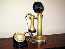 Candlestick telephone Royalty Free Stock Image