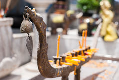 Candlestick in thai style Royalty Free Stock Photography