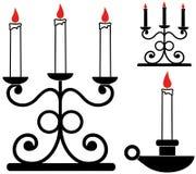 Candlestick. Vector illustration (EPS 10 royalty free illustration