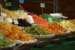 Candlied frukt arkivfoton