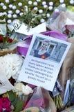 Candllelit Vigil για το δολοφονημένο βουλευτή, Jo COX Στοκ φωτογραφία με δικαίωμα ελεύθερης χρήσης