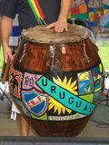 Candombe Drumming Royalty Free Stock Images