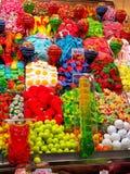 Candy& x27;与不同颜色的s 图库摄影