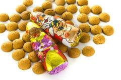 Candy. A lot of sweet candy for celebrating 'sinterklaas' in the netherlands on the fifth of December Royalty Free Stock Images