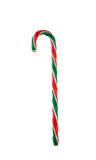 Candy. Cane isolated on white with clipping path Stock Photography