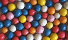 Candy. Some candies with different colors Royalty Free Stock Images