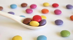 Candy. Some candies with different colors Royalty Free Stock Photos
