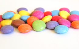 Candy. Some candies with different colors Royalty Free Stock Photo