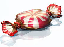 Candy. 3d render of a sweet candy Stock Image