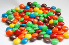 Candy. Image of colorful candy with white color as background Stock Photography