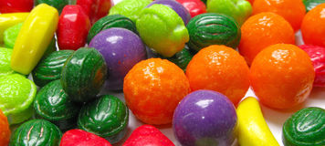 Candy. Various colors of  candy close up Stock Image