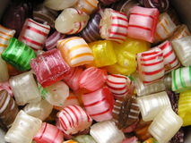 Candy. Bright holiday candy Royalty Free Stock Images