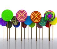 Candy - 3D Royalty Free Stock Photography