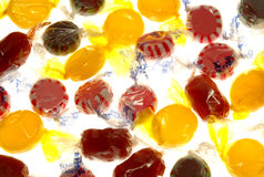 Candy. On white background Stock Photos