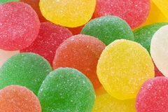 Candy. Sugar Candy, gumdrops Royalty Free Stock Photography