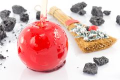Candy apple Royalty Free Stock Image