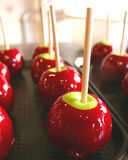 Candy apple. S at cannery row royalty free stock images