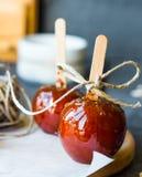 Candy apple, Christmas dessert Stock Photo