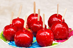 Candy Apples Stock Images
