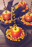 Candy apples Royalty Free Stock Images