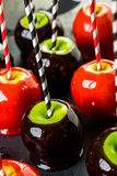 Candy apples Stock Photography