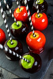 Candy apples Royalty Free Stock Photo