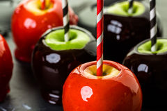 Candy apples Royalty Free Stock Photos