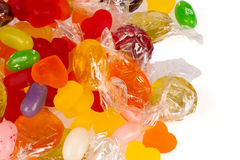 Candy assortment Royalty Free Stock Photos