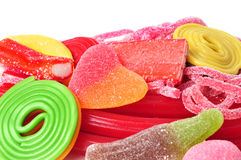 Candy assortment Stock Photo
