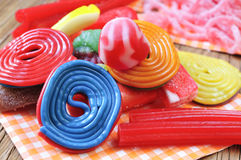 Candy assortment Royalty Free Stock Photos