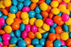 Candy background. Colored  background made from sweet tasty candy Royalty Free Stock Images