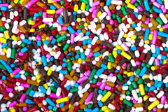 Candy background. Colored decorative little sweet candy background Royalty Free Stock Images