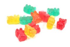 Candy Background Stock Photography