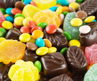 Candy background royalty free stock image