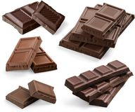 Candy Bar. Chocolate White Chocolate Milk Chocolate Dark Chocolate Cocoa Candy Stock Images