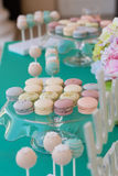 Candy Bar. Cute candy bar with various candies and cakes Stock Images