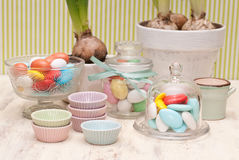 Candy. Bar and party decoration Stock Image