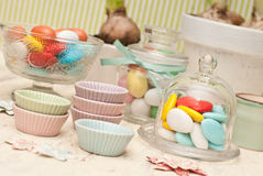 Candy. Bar and party decoration Stock Images