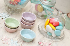 Candy. Bar and party decoration Royalty Free Stock Images