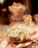 Candy Bar. A Candy Bar set up at a wedding featuring chocolate and dipped pretzels Royalty Free Stock Photography