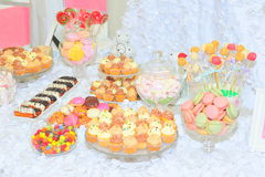 Candy bar sweets Stock Photo
