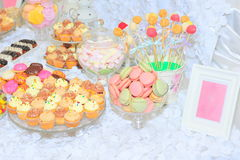 Candy bar sweets Royalty Free Stock Photo