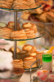 Candy bar table stock photography