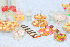 Candy bar. Thematic candy bar for events Stock Photography