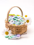 Candy Basket royalty free stock photo